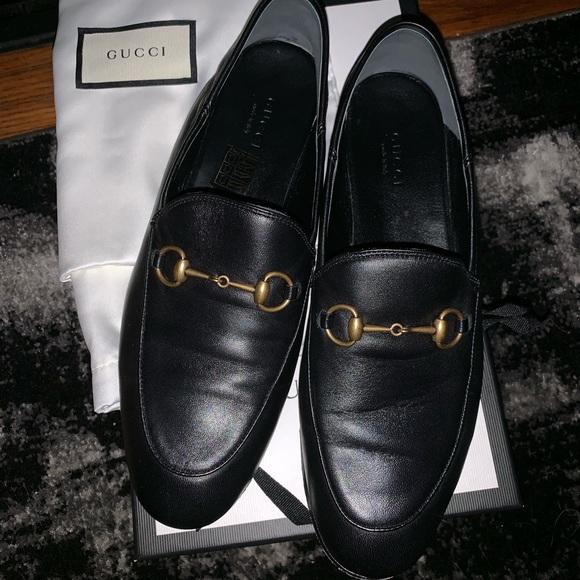 17e3a6e842e Gucci Shoes - Gucci brixton loafer size 38.5